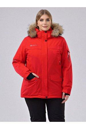 Женская куртка-парка Azimuth В 20697_77 (БР) Красный