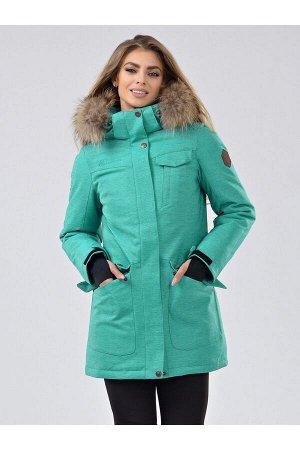 Женская ARCTIC SERIES куртка-парка Azimuth В 20790_118 Мятный