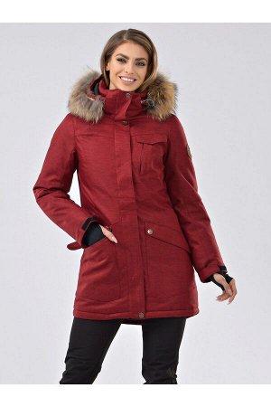 Женская ARCTIC SERIES куртка-парка Azimuth В 20790_115 Бордовый