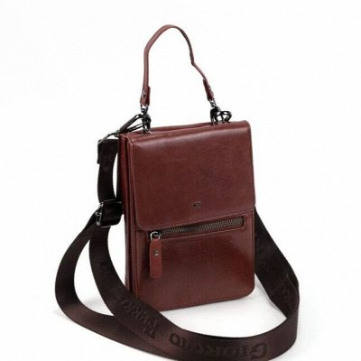 🎁 Кожаные сумки от 1700 рублей — Мужская сумка-портмоне / клатч