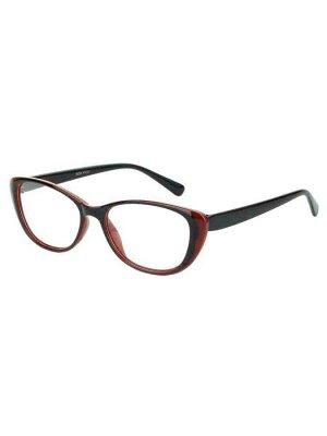 Готовые очки 0601 Черно-бордовые
