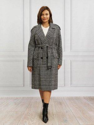 Пальто Ткань верха: Твид (шерсть 70%, поливискоза 30%)  Молодежное пальто тренч. Базовая вещь, которая будет востребована и актуальна еще многие десятилетия. Модель этого пальто с неизменными атрибу