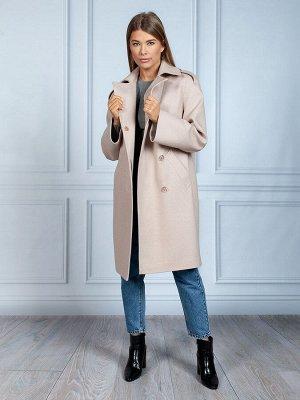Пальто Ткань верха: Твид (шерсть 60%, полиэстер 30%, акрил 10%)  Демисезонное укороченное женское прямое пальто с английским воротником, позволяет оставаться элегантной в любом стиле и при любой погод