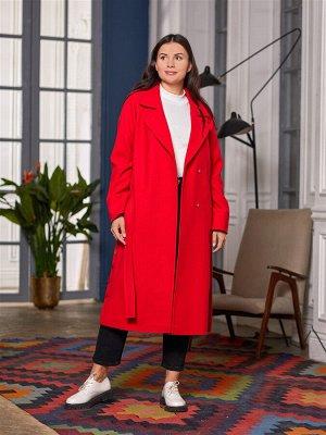 Пальто Ткань верха: Велюр (шерсть 60%, полиэстер 30%, акрил 10%)  Молодежное прямое пальто. Красивая и стильная модель для весеннего гардероба. Пальто с английским воротником, который всегда выигрышно