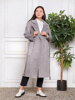 Пальто Ткань верха: Диагональ (шерсть 50%, вискоза 30%, полиэстер 20%)  Молодежное прямое пальто. Красивая и стильная модель для весеннего гардероба. Пальто с английским воротником, который всегда выи