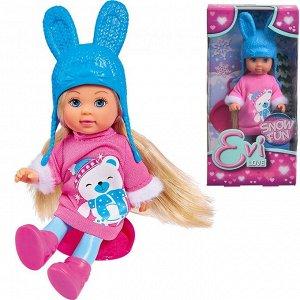 ЕВИ Кукла 12 см в зимнем платье с аксесc. 5733362