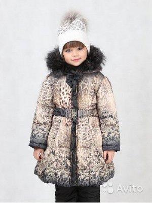 Пальто зимнее девочка