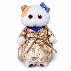Мягкая игрушка BUDI BASA Кошка Ли-Ли в блестящем плаще 24 см1