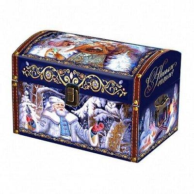 Министерство Сладостей • Новогодние подарки — VIP подарки для взрослых • Подарочный чай и кофе