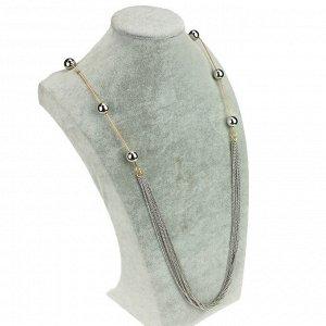 Длинное колье «Тонкие цепочки»