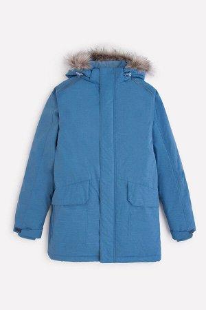 Пальто зимнее для мальчика ВКБ 36067/1 ГР