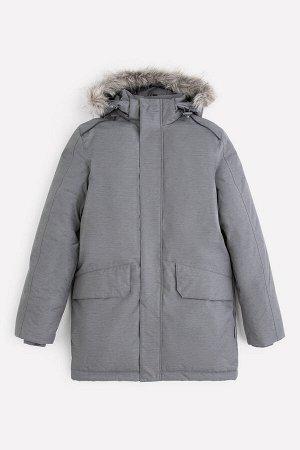 Пальто зимнее для мальчика ВКБ 36067/2 ГР