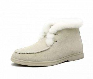 Меховые ботинки