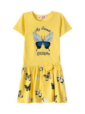 """Платья для девочек """"Bowtie yellow"""", цвет Желтый"""