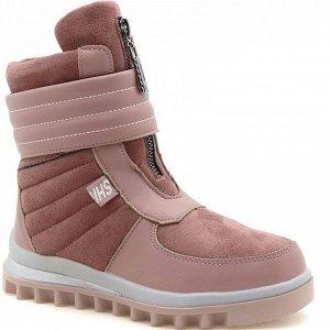 2303-5H роз Ботинки зима для девочек (32-37)/8