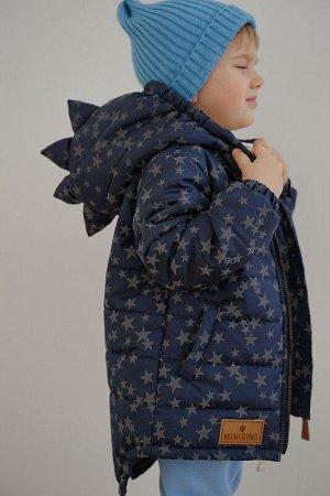Куртка Дино Рефлект синие звёзды