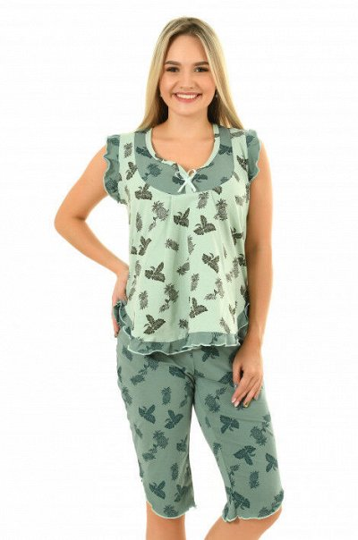 Елена37. Одежда для дома. До 72 размера — Пижамы