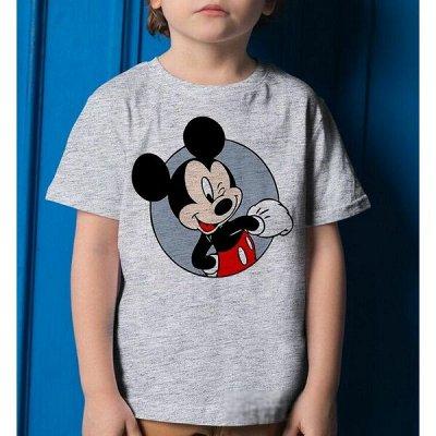 Мегамаркет футболок — женские, детские, для пар! и сумки — Футболки детские - 6