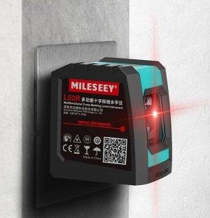 Лазерный уровень MILESEEY 2 красных луча