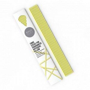 Палочки для ароматического диффузора фибра 23 см BAGO желтые