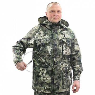 Б. В. Р-спец. одежда. Для охоты, рыбалки, туризма — Демисезонная спецодежда для мужчин