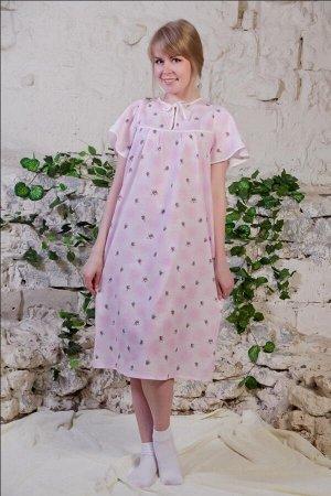 Сорочка ночная женская,модель 4012, 62-70 размер,ситец (62 размер)