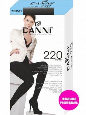 DANNI / Колготки женские TUNDRA 220 den, черные