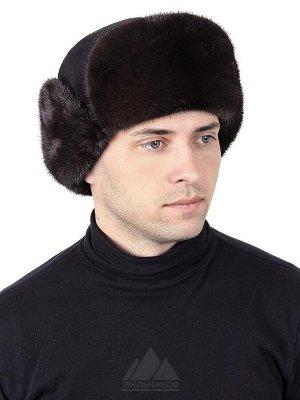 Норковая шапка-пилотБалу
