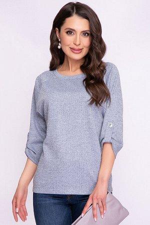 Блузка Блузка из плотного трикотажного полотна.  Cостав: 30% вискоза 65% п/э,5% эластан