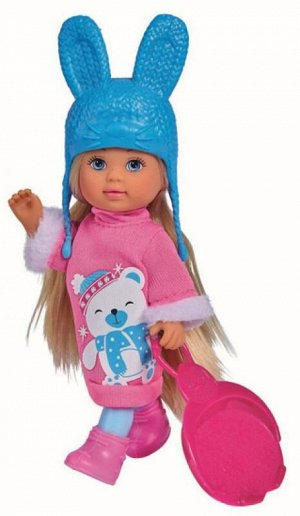 Кукла Еви 12 см в зимнем платье с аксессуарами Simba 5733362
