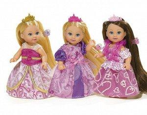 Кукла Еви 12 см длинные волосы и аксессуары 3 вида Simba 5737057