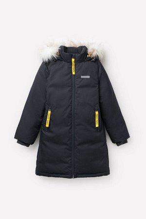 Пальто пуховое для девочки Crockid ВК 34057/1 УЗ