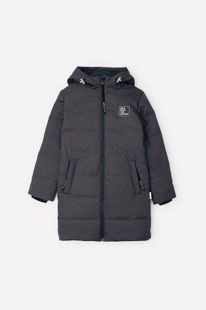 Пальто зимнее для мальчика Crockid ВК 36061/1 ГР