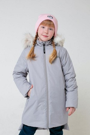 Пальто зимнее для девочки Crockid ВК 38065/1 ГР
