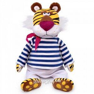 Мягкая игрушка Тигр 32 см - Отважный моряк Роберт Рольф (Budi Basa)