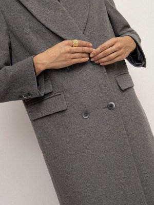 Пальто прямого кроя R079/petunia