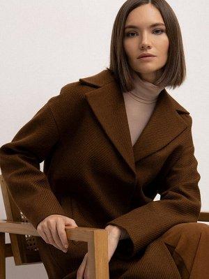Пальто прямого кроя R086/jobby