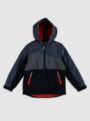 Куртка ветровка для мальчиков с капюшоном