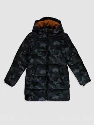 Зимняя куртка для мальчиков с капюшоном