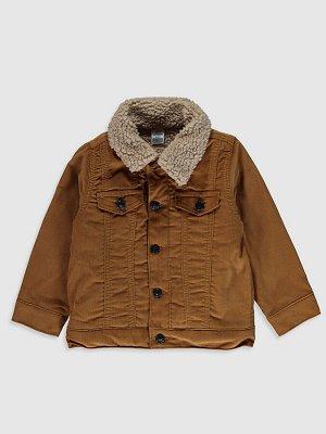 Бархатная куртка для малышей-мальчиков