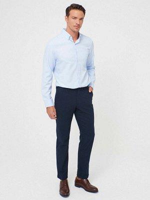 Текстурированные мужские брюки классического кроя