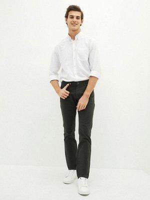 Мужские брюки облегающие