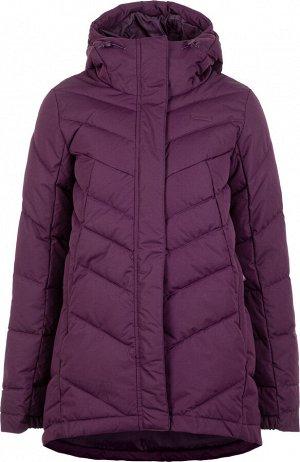 Удобная и практичная женская куртка, выполненная в спортивном стиле.
