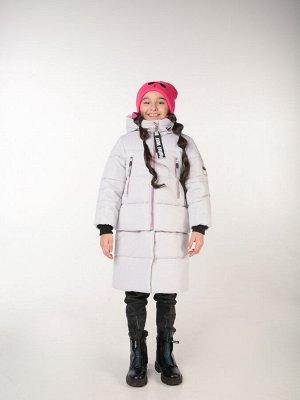 101428/2 (серый) Пальто для девочки