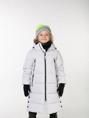 101441/2 (серый) Пальто для мальчика