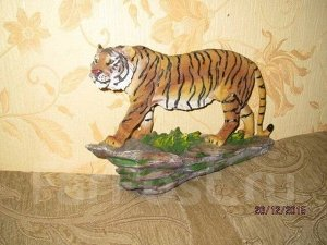"Статуэтка ""Тигр"" , ручная работа, на подарок ! символ 2022г"