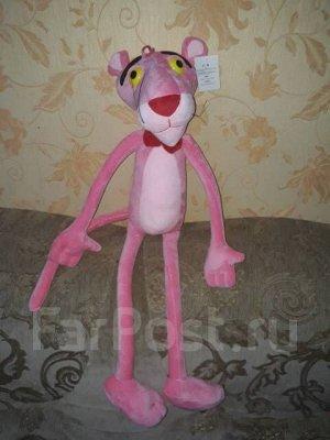 """Мягкая игрушка """"Розовая пантера"""", рост 80 см"""