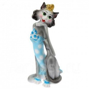 "икарная статуэтка ""Гламурная кошка "", ручная работа"
