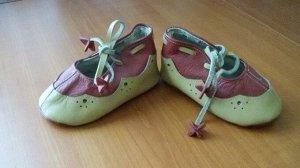 пинетки детские кожаные