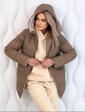 Куртка женская, двусторонняя